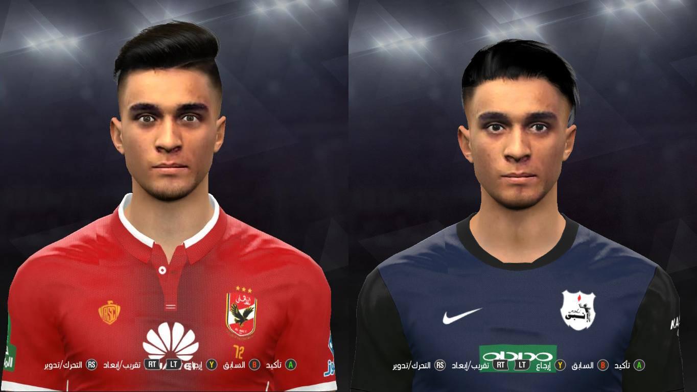 PES 2017 Salah mohsen Face by Prince Shieka