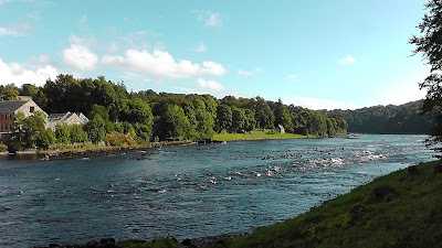 Salmon Fishing Scotland Prospects for the river Tay, Perthshire, Scotland week commencing 9th September 2013.