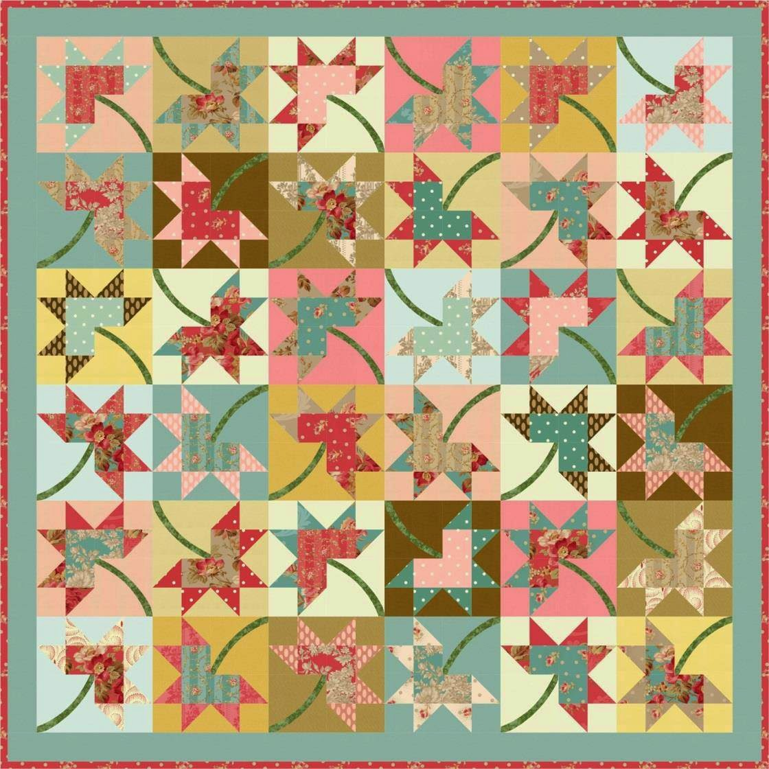 turning 20 quilt pattern pdf