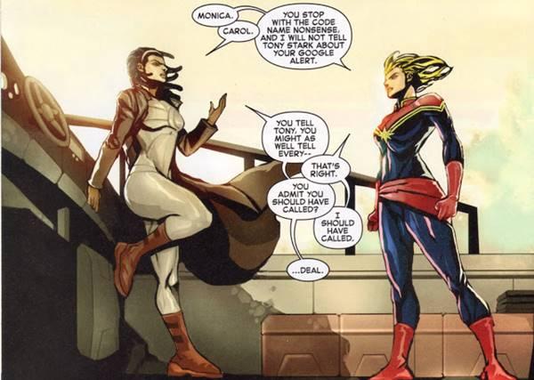 siapa Monica Rambeau adalah Captain Marvel Berkulit Hitam dari Marvel Comics