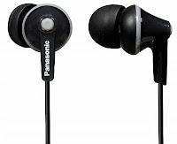Panasonic RP-HJE125E-K In-Ear Headphone