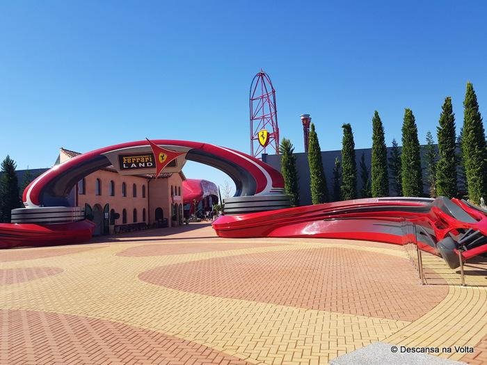 Parque da Ferrari perto de Barcelona