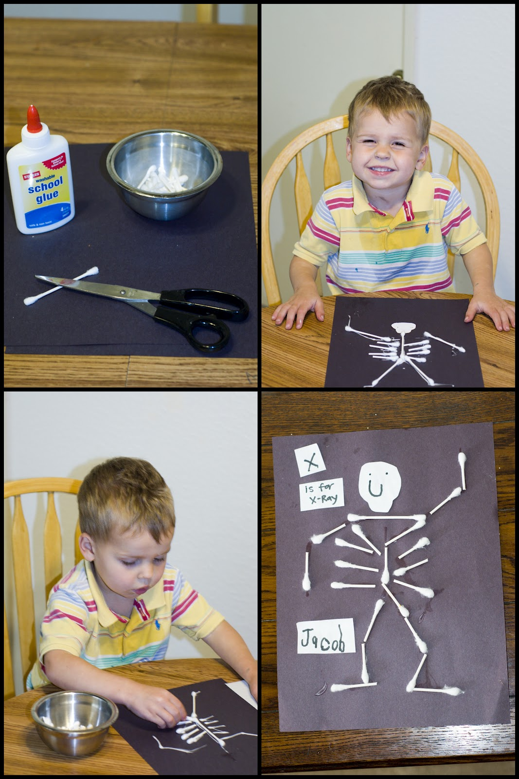 Mommy Lessons 101 X Is For X Ray Human Body Theme