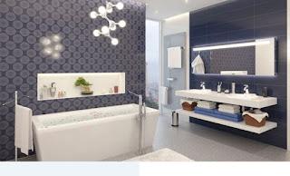 تصميمات الحمامات