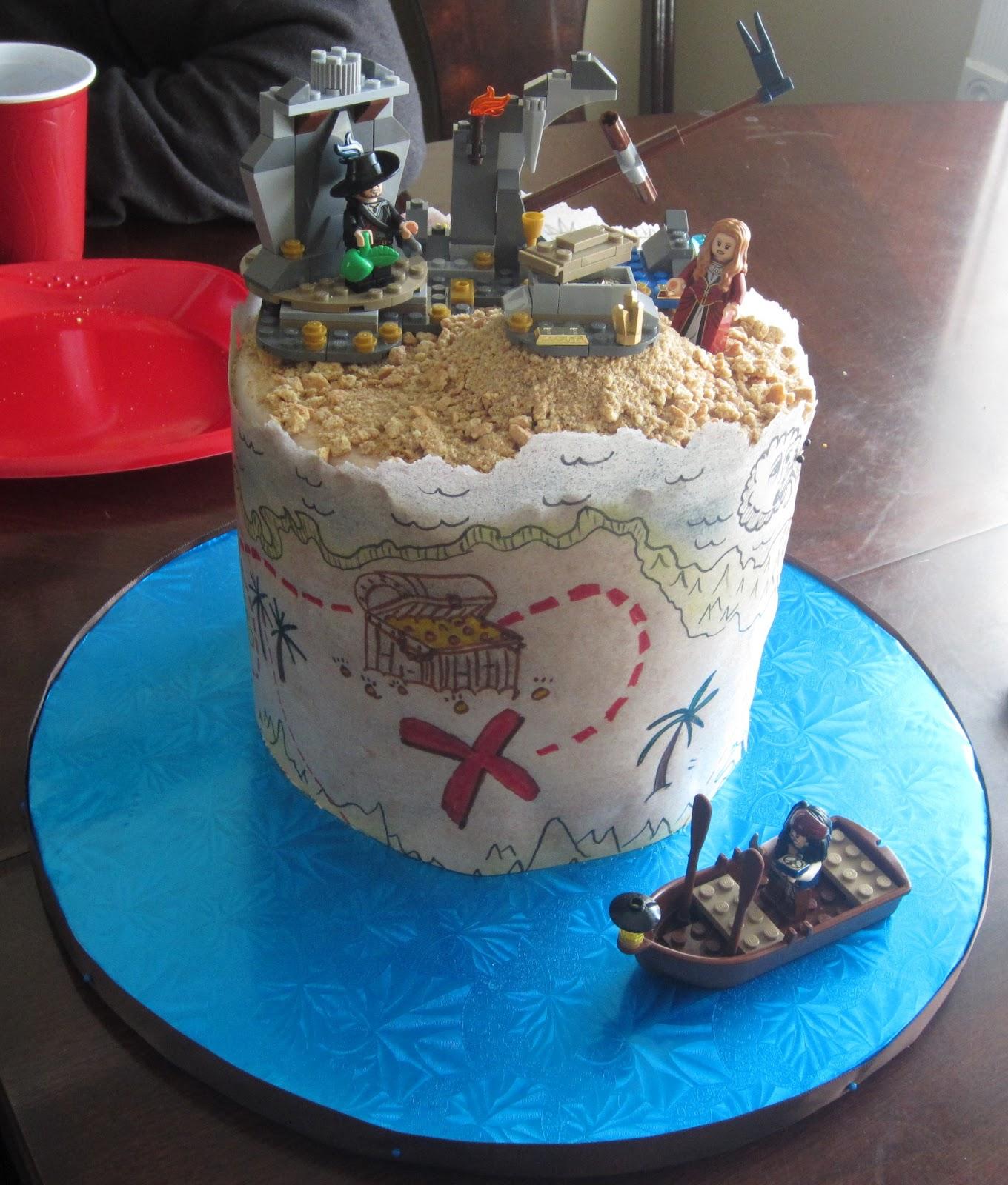 J S Cakes Legos Pirate Cake