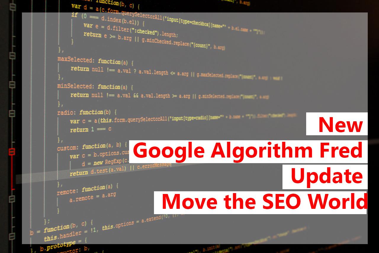 Google Algorithm Fred