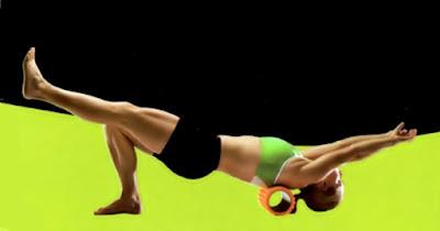 体幹トレーニングは姿勢が大事です。