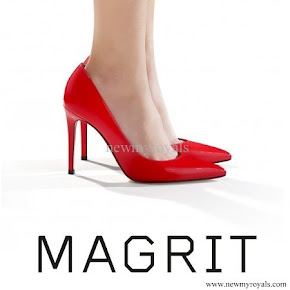 Queen Letizia wore MAGRIT Brigitte Shoes