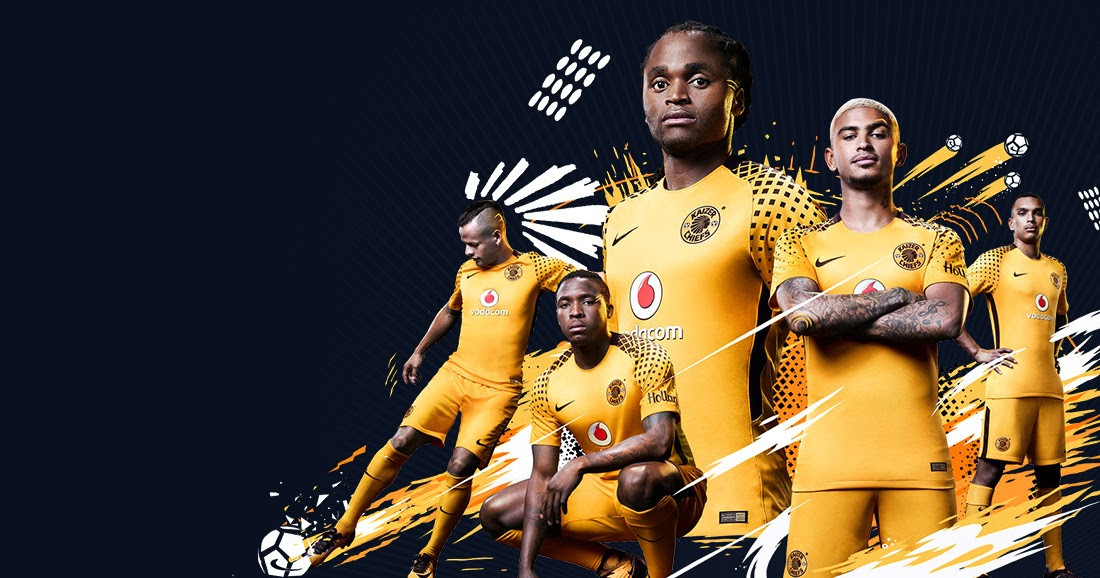 nike kaizer chiefs 17 18 home amp away kits released   footy