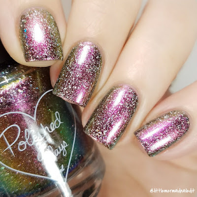 Polished For Days Dasher For The Love Of Polish December 2017 Swatches and Review