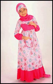 Gambar Terbaru Baju Muslim Anak Perempuan