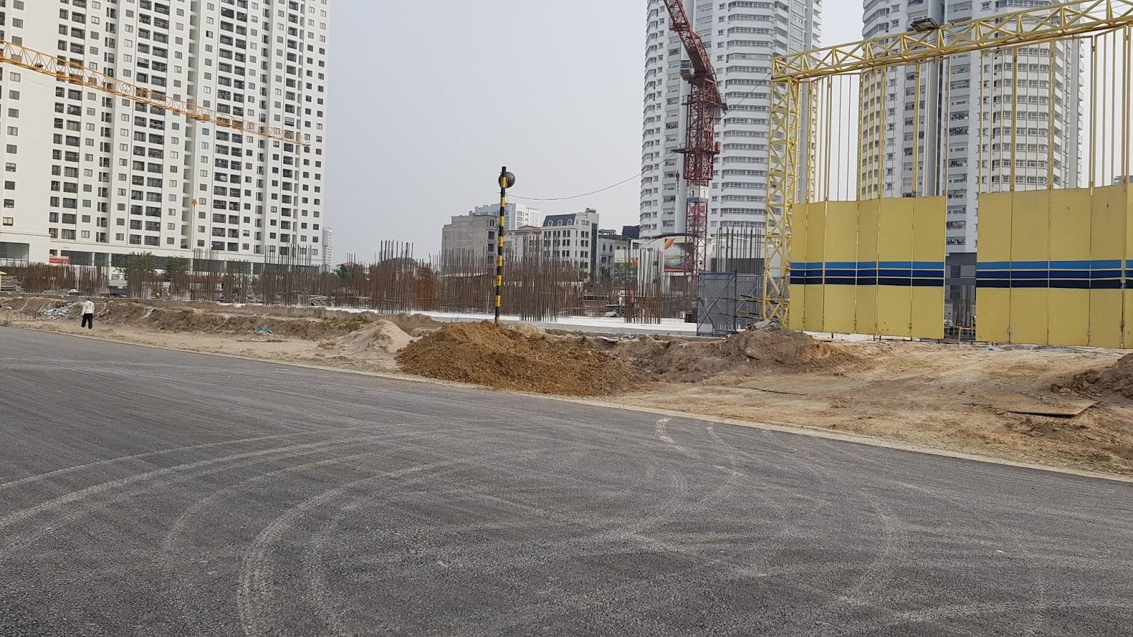 Chung cư 6th Element nhìn từ đường 40m