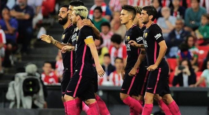 La Liga: Rakitic Goal Keeps Barca Perfect