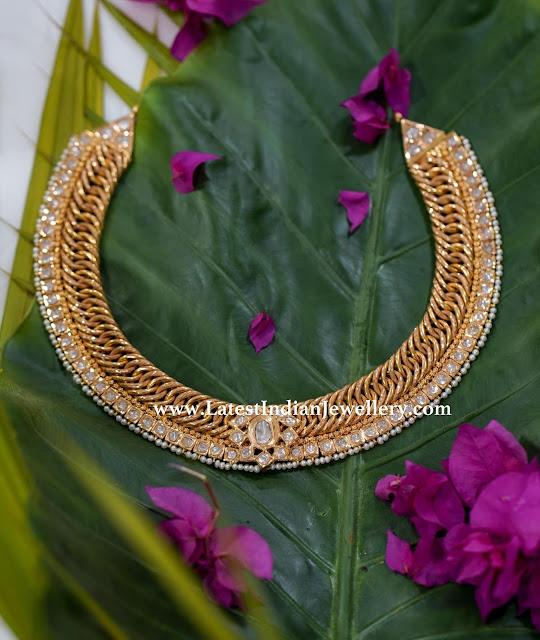 Jalebi Necklace by Manjula