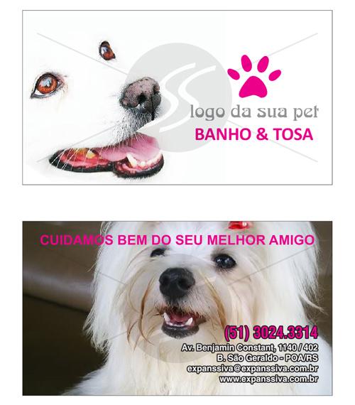 cartao de visita pet shop 16 - Cartões de Visita Pet Shop