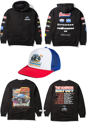 The Hundreds X BIGFOOT The Original Monster Truck Apparel Capsule Collection