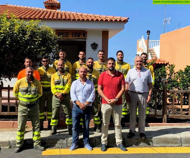 El Cabildo de La Palma agradece al Gobierno de Canarias que el Eirif esté operativo hasta final de año