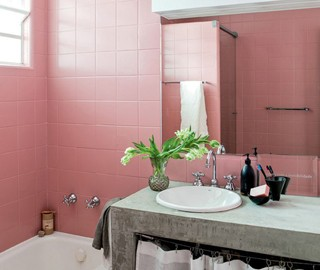Construindo minha casa clean como reformar um banheiro - Pinturas para baldosas ...