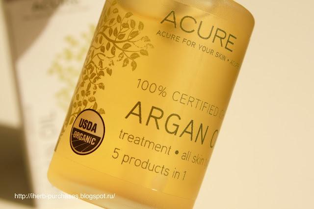 аргановое масло цена отзыв купить для волос для кожи iherb