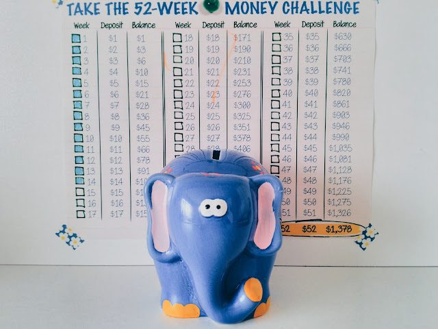 periodiclibrary 52 week money saving challenge