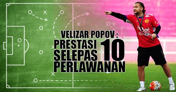 Velizar Popov : Prestasi Selepas 10 Perlawanan