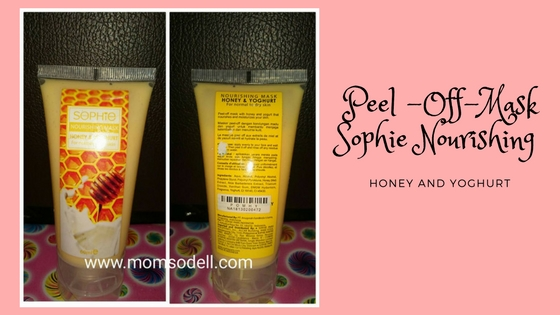 Peel-Off Mask : Sophie Paris Honey and Yoghurt