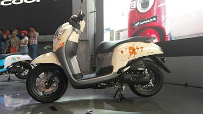 Warna Honda Scoopy