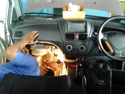 Ganti Evaporator & Expansi Ac mobil Suzuki Baleno   Bengkel AC mobil ANUGERAH JAYA AC