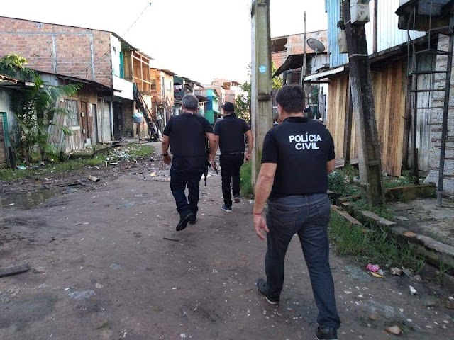 Polícia Civil do Pará em atuação na operação nacional PC27