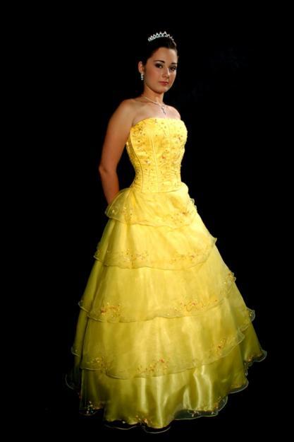 Alegria De Noivos Vestido De Noiva Amarelo