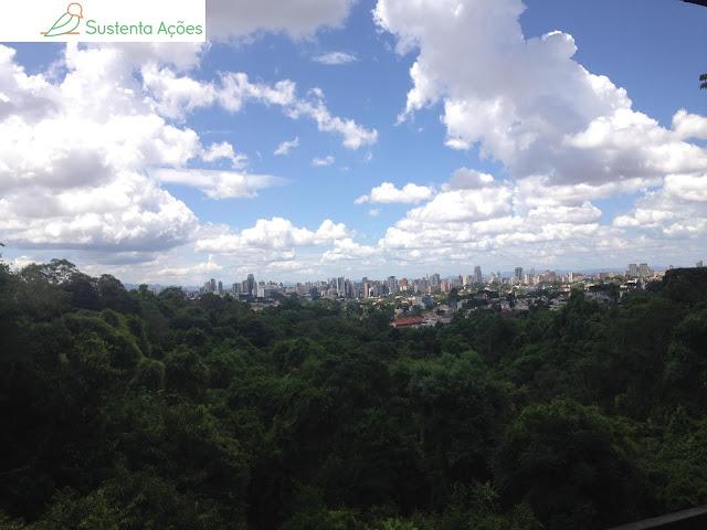 Vista do mirante da Torre dos Filósofos