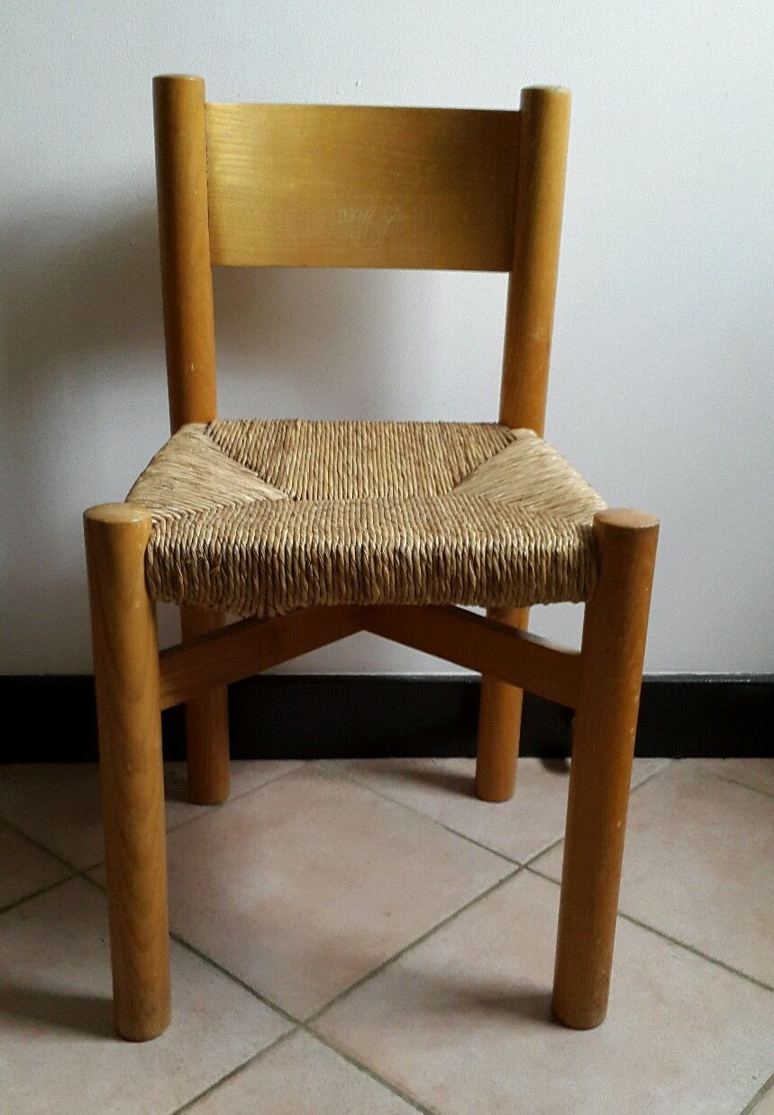 charlotte perriand chaise tabouret
