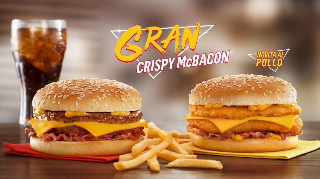 Canzone McDonald's Gran Crispy McBacon con Max Pezzali Pubblicità