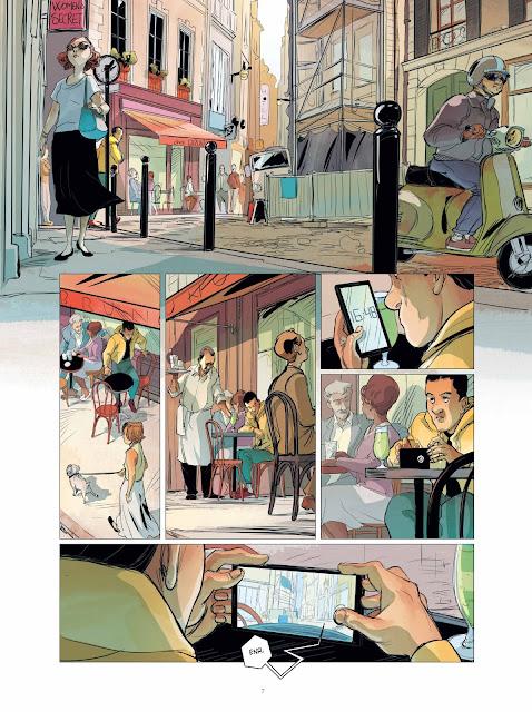"""Brigade Verhoeven tome 1 """"Rosie"""" page 7 aux éditions Rue de Sèvres"""