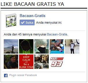 Memasang FansPage Facebook Di Blog