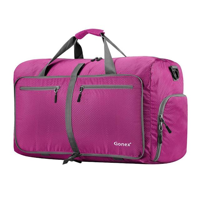 Amazon: Gonex 60L Foldable Travel Duffel Bags for only $22 (reg $74)!