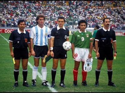 mexico vs argentina copa america1993