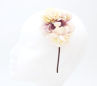 PV 2017 - Coleccion Nude 07 Diadema Tocado flor