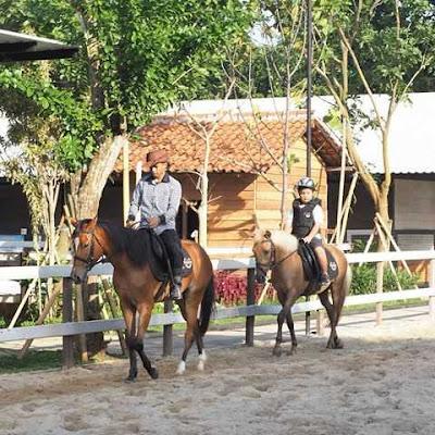 Wahana Menunggang Kuda