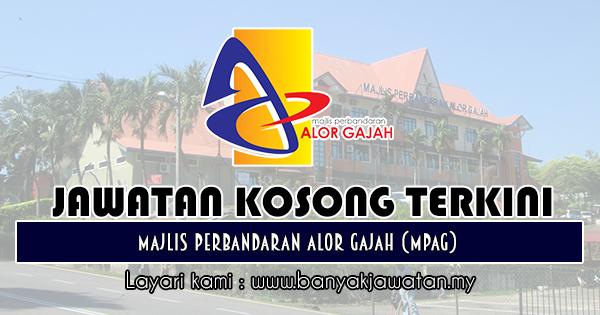 Jawatan Kosong 2018 di Majlis Perbandaran Alor Gajah (MPAG)