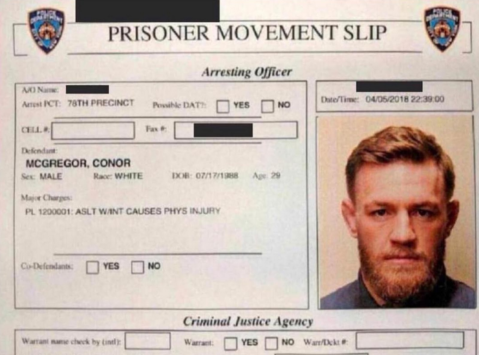 CONOR MCGREGOR 5