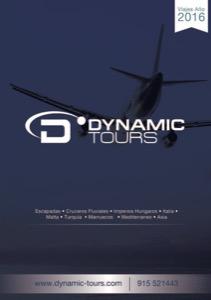 Dynamic Tours Catálogo de viajes 2016
