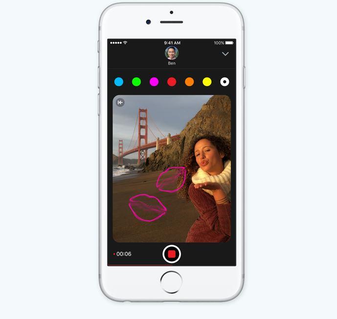 iOS 10 ultime notizie e novità modificare e personalizzare foto e video con disegni