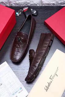 giày da nam giày lười Salvatore Ferragamo