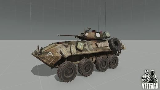 Arma3で現代戦を作るVeteran MODのLAV-25A1
