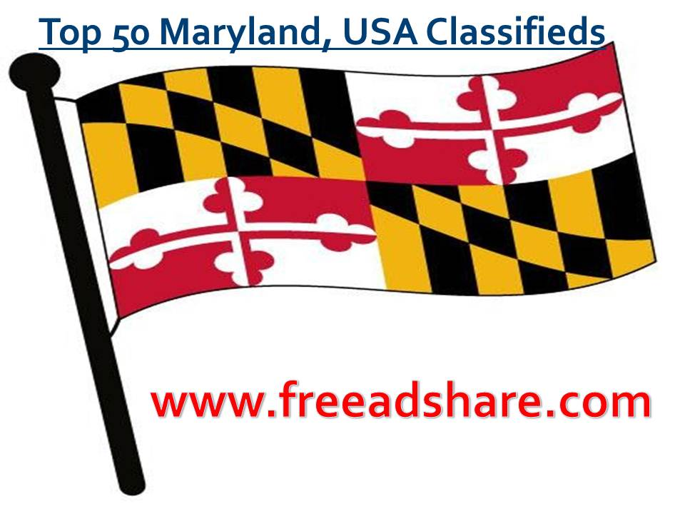 List of Top 50+ Maryland Classifieds Sites | Online Post Free