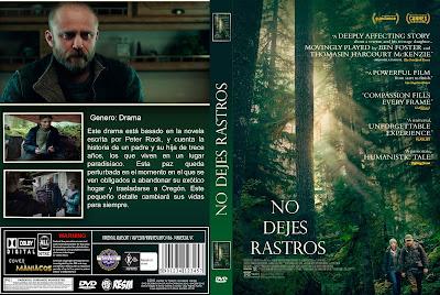 CARATULA LEAVE NO TRACE- NO DEJES RASTROS 2018 [COVER DVD]