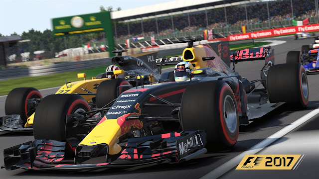 F1 2017 game Codemasters