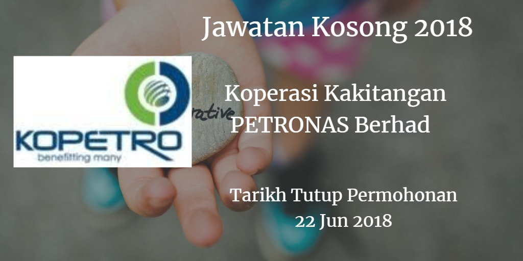 Jawatan Kosong KOPETRO 22 Jun 2018