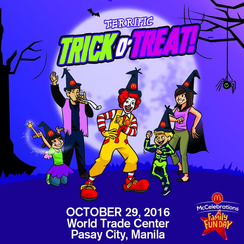 Moms World of Arts and Happiness: McDonalds Grand - World Halloween Day